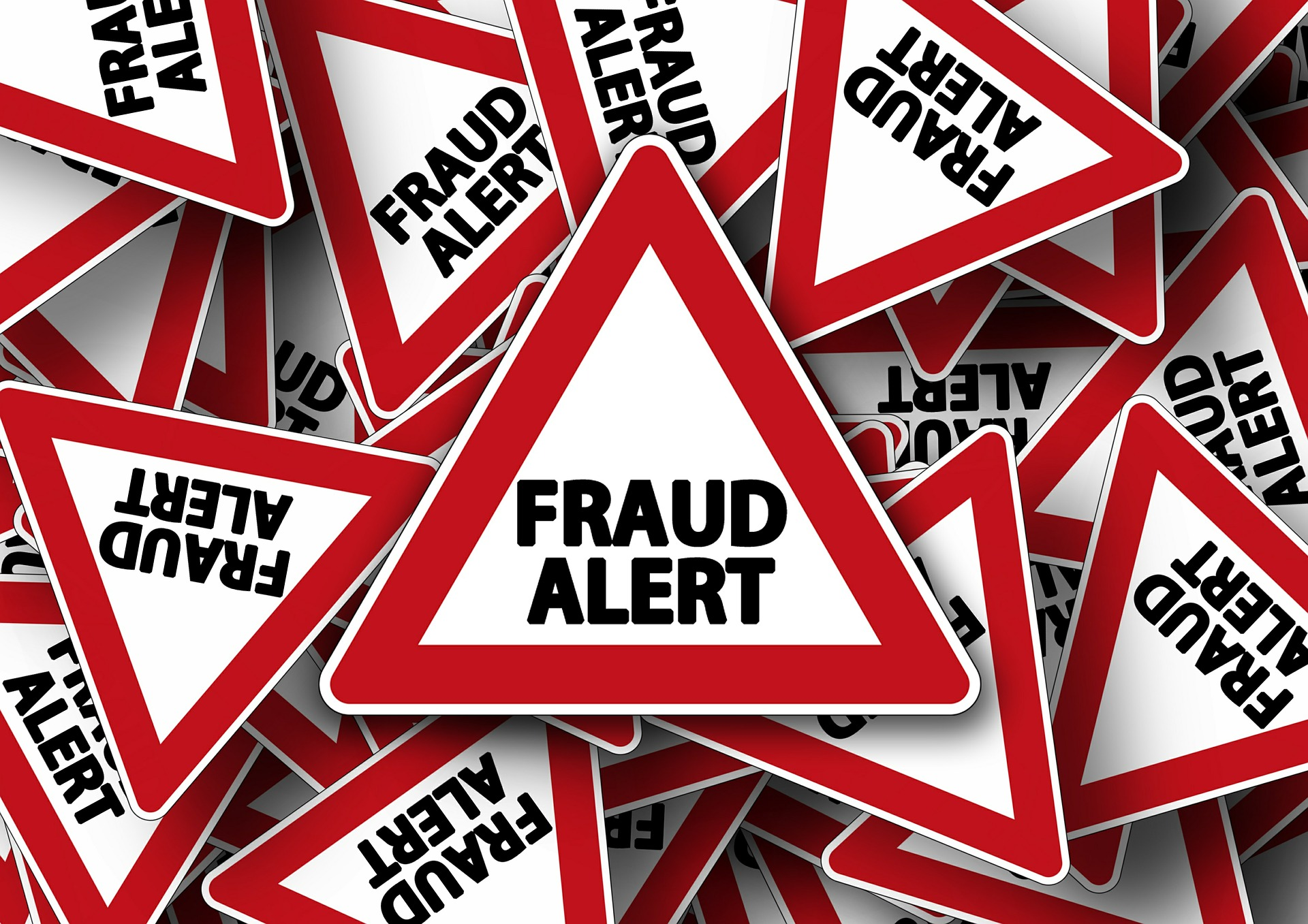 Fraud and Scam Sign